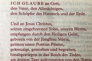Evangelisches Glaubensbekenntnis Text