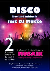 "Zweite ""Inklusive Disco"" in Meckenheim"