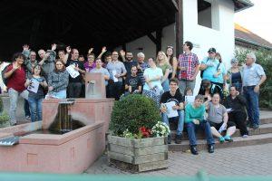 Städtereise nach Heidelberg – 30 Teilnehmer inklusiv unterwegs im Jahr 2018