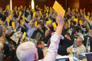 Und dann wird abgestimmt: Landessynode 2016 (ekir.de / Foto: Hans-Jürgen Vollrath)