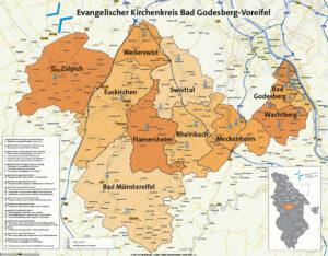 Kirchenkreiskarte