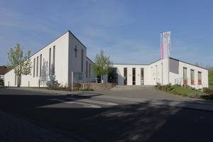 Hier tagt die Frühjahrssynode: Das Gemeindezentrum Wachtberg-Niederbachem. Foto: Meike Böschemeyer