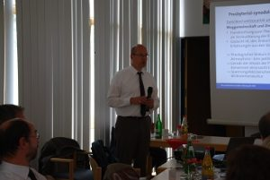 Wichtig, dass wir uns damit auseinander setzen: Bernd Baucks zur presbyterial-synodalen Ordnung. (Foto: Uta Garbisch)