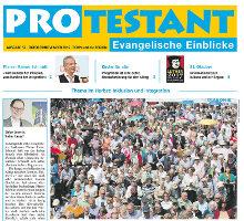 PROtestant gibt spannende evangelische Einblicke und sucht Antworten auf brennende Fragen unserer Gesellschaft